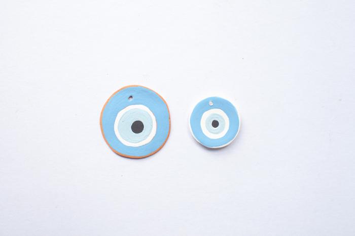 clay evil eye