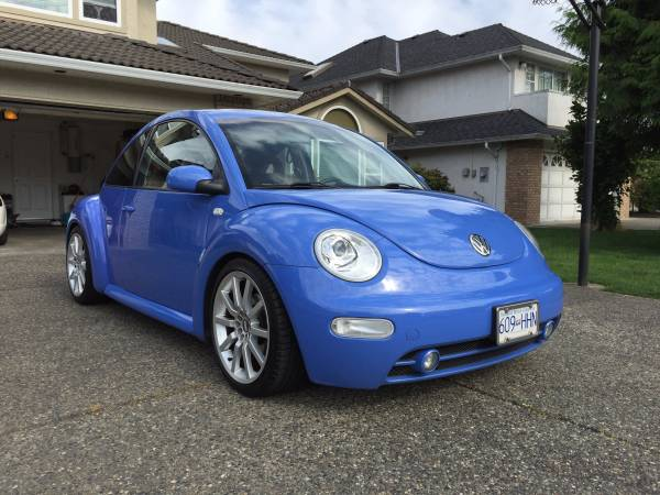 2001 VW New Beetle Blue