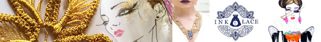 Ink & Lace by Lorena Balea-Raitz, saving Romanian point lace work tradition. Indie fashion designer