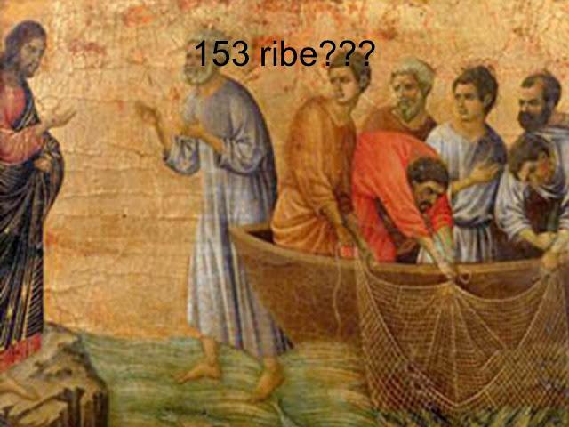 Isus i 153 ribe
