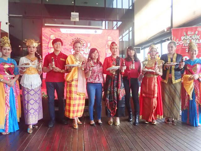 5 kota di indonesia meramaikan pucuk coolinary festival, jogja, denpasar, makassar, palembang, medan
