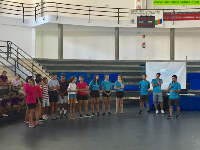 """El Ayuntamiento de Los Llanos de Aridane clausura el campus de Verano """"Los Llanos se Mueve 2018"""" con récord histórico de inscripciones"""