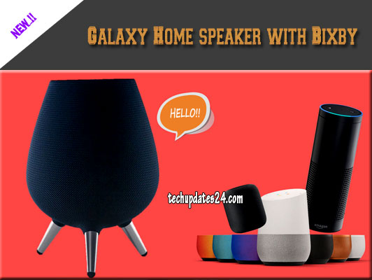 Galaxy Home Speaker With Bixby Smart Assistant