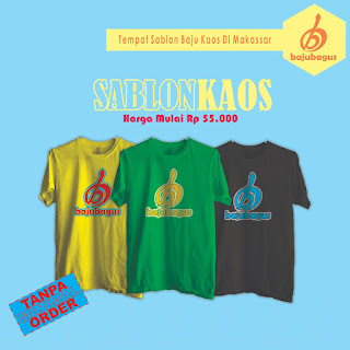 Sablon Baju Kaos Makassar
