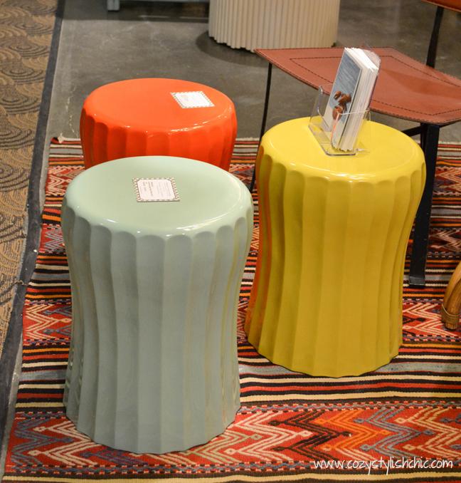 resin accent tables/stools - Selamat Designs, #LVMkt, summer 2013