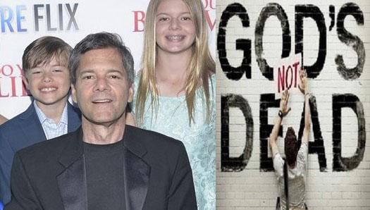 Russell Wolfe productor de Dios No Está Muerto