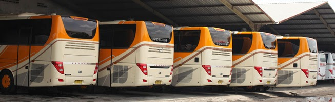 Sewa Bus Pariwisata Area Jogjkarta-Surakarta-Semarang 2019