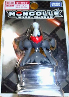 Darkrai figure Tomy Monster Collection MONCOLLE series