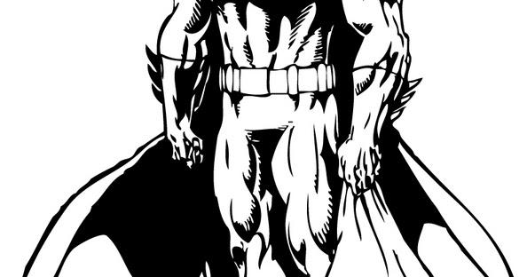 Blog MegaDiverso: Batman Para Imprimir Y Pintar