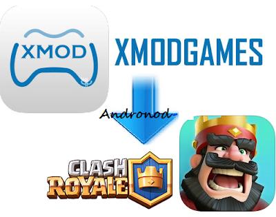 Cara Menggunakan XMod Games Di Clash Royale