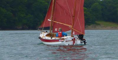standing lug sail