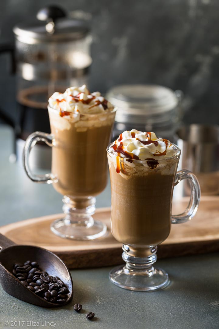 how to make coffee frappuccino