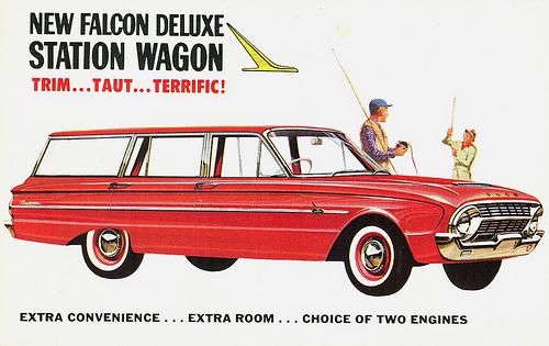 REVolution: 1960-1970 Ford Falcon Wagon   in America
