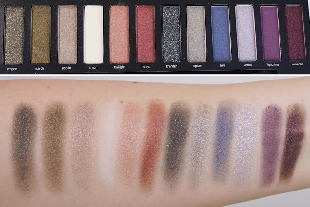 ARTDECO - Most Wanted Smokey Meets Metallic Eyeshadow Palette Swatches