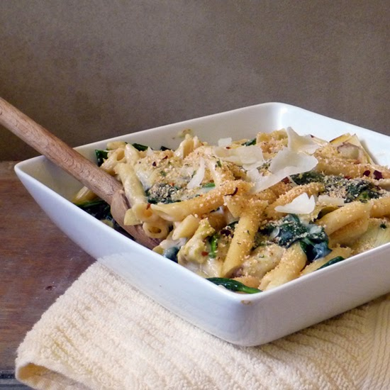 Spinach Artichoke Pasta Recipe | Life Tastes Good