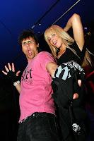 Jennylee Berns in a nightclub