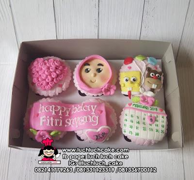 Cupcake Fondant 2d Spongebob