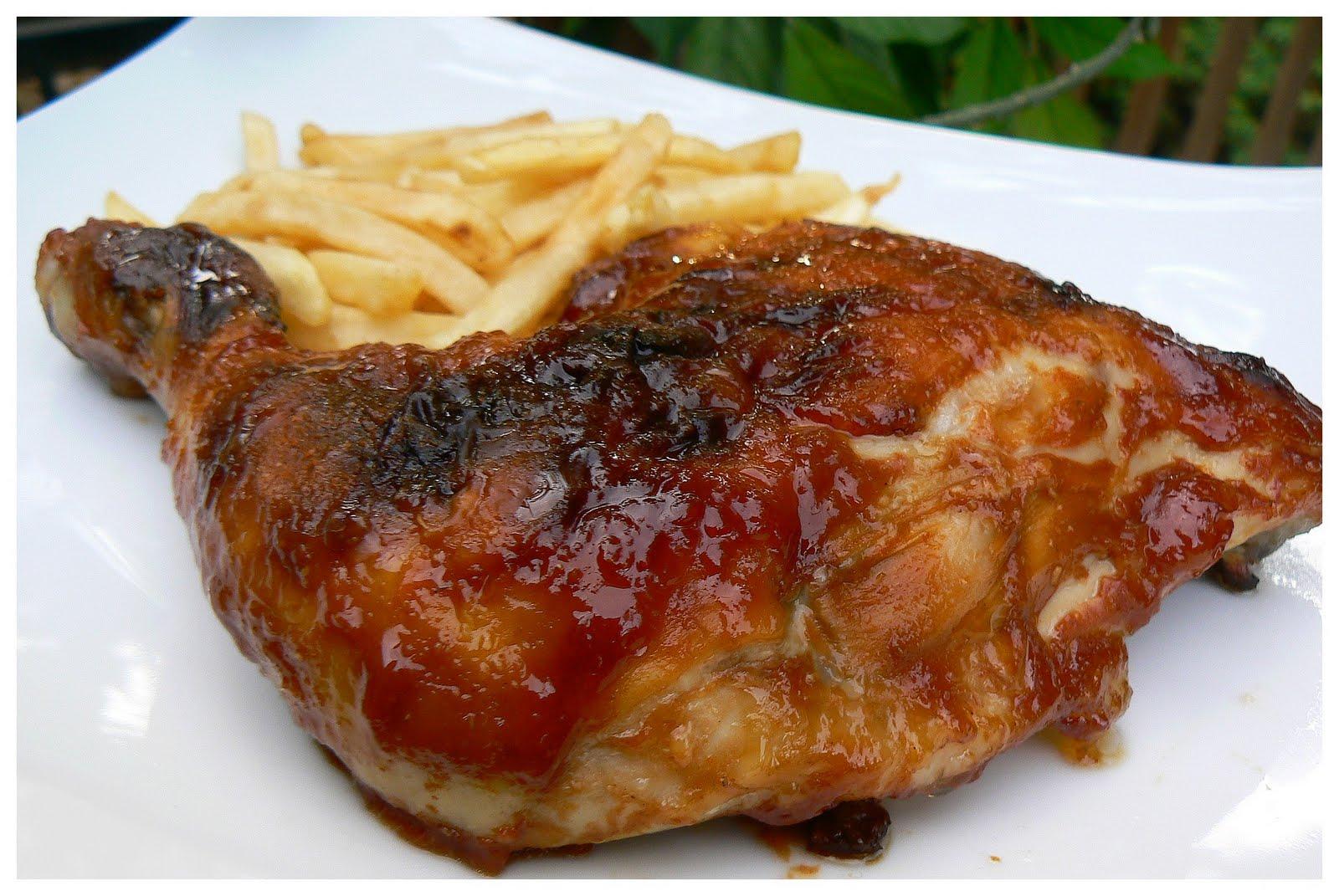 le palais gourmand cuisses de poulet bbq la sauce c l bre. Black Bedroom Furniture Sets. Home Design Ideas