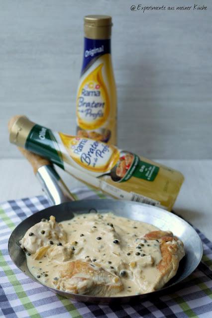 Experimente aus meiner Küche: Hähnchen in Pfeffer-Rahmsoße