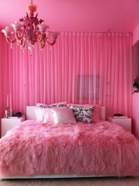 Dormitorio rosa pink bedrooms by for Lenceria de dormitorio 3
