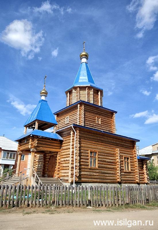 Храм иконы Божией Матери «Иверская». Поселок Новый Быт. Свердловская область