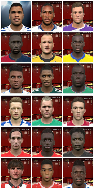 PES 2016 Internarional facepack vol. 3 by Kruptsev