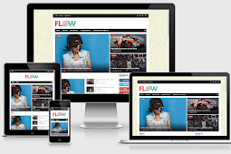 Flow Responsive Magazine Blogger Template Free Download