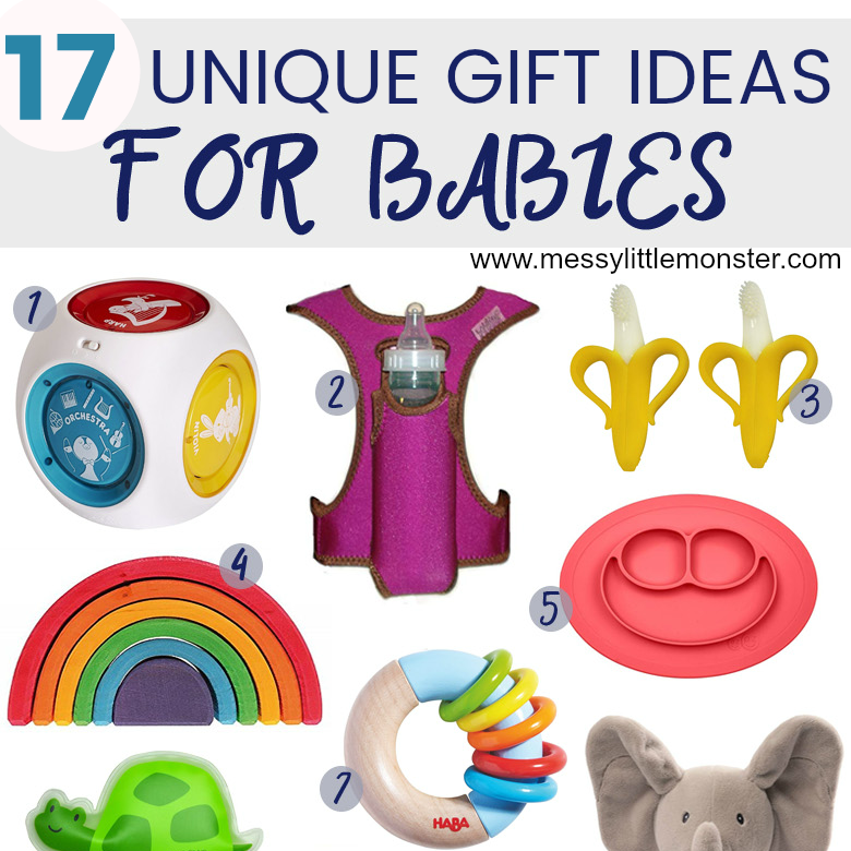 Unique gift ideas for babies. 17 unique baby gifts you will love!