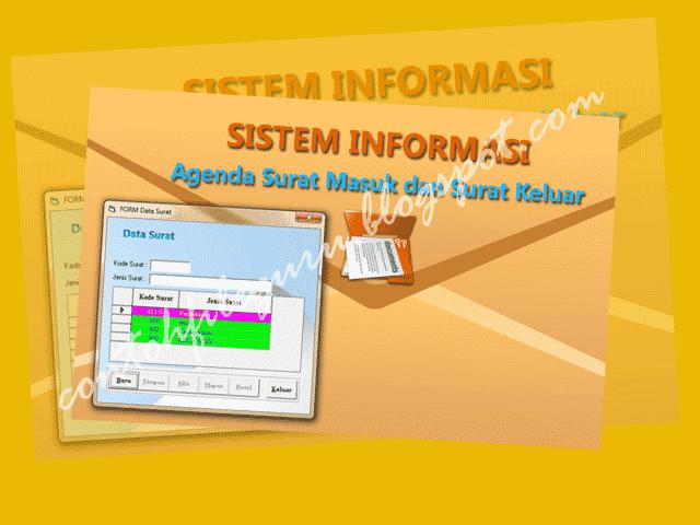 Download Contoh Aplikasi Agenda Surat Masuk Keluar SD/SMP/SMA Versi Full Vba