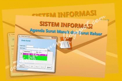 Download Contoh Aplikasi Surat Menyurat SD/SMP/SMA