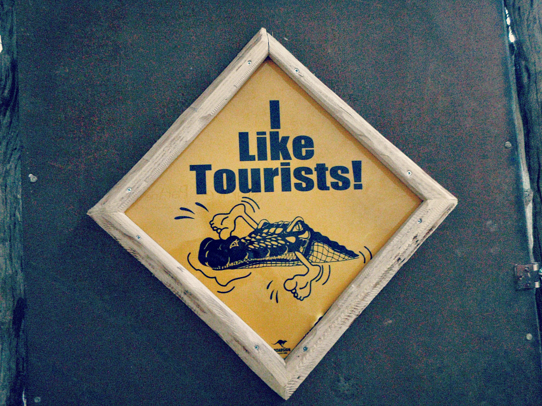 i like tourists