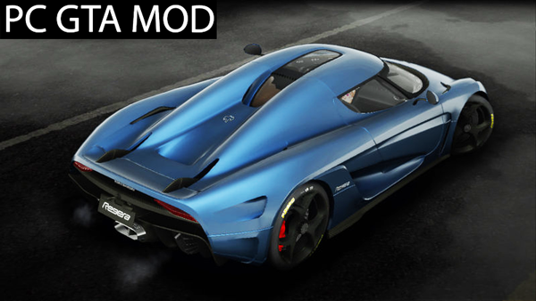 Free Download  2015 Koenigsegg Regera  Mod for GTA San Andreas.