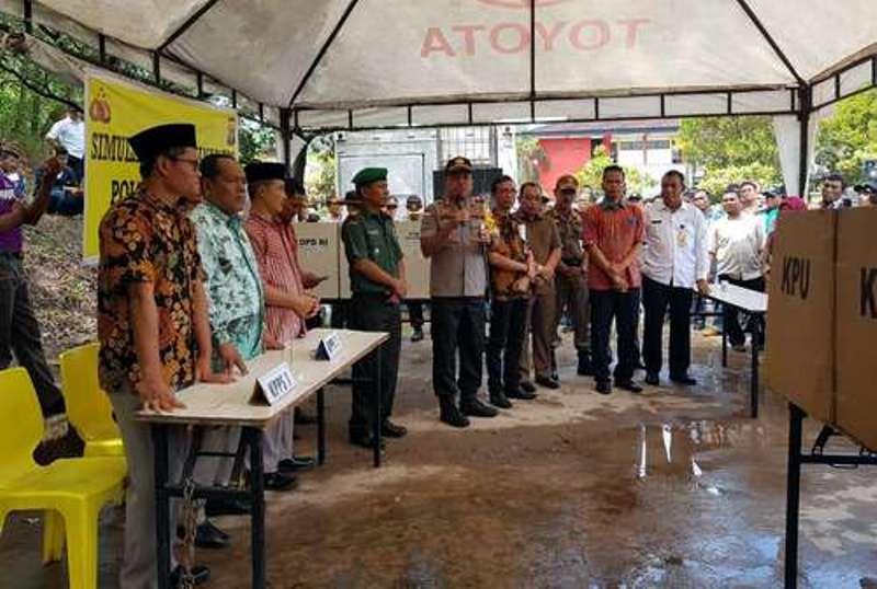 Polresta Barelang Sebar 6.000 Linmas di 2.979 TPS, untuk Kondusivitas Batam