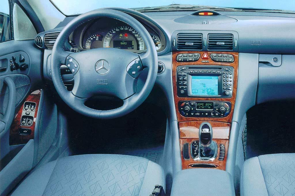 Mercedes-Benz c class 2004 interior