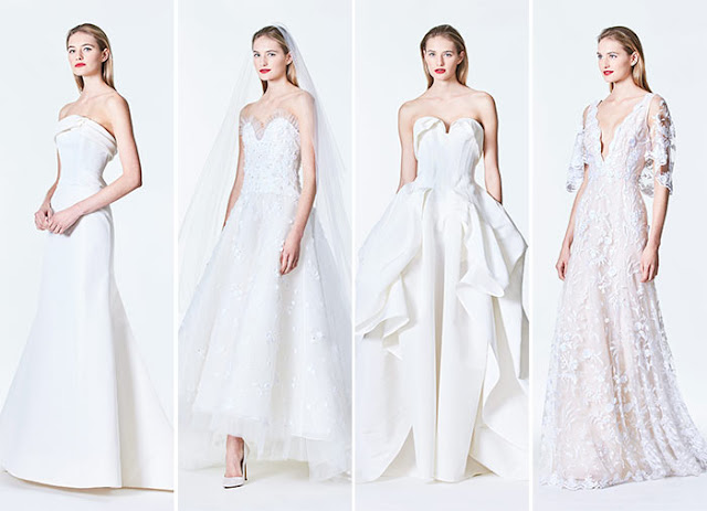 Carolina Herrera Bridal Collection Fall 2017