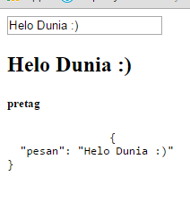 Membuat Hello World Input Reactive dengan Vue.Js
