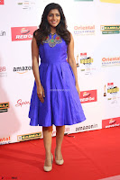 Eesha in Cute Blue Sleevelss Short Frock at Mirchi Music Awards South 2017 ~  Exclusive Celebrities Galleries 034.JPG