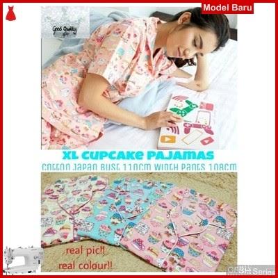 GFSH2939293 Setelan Xl Pajamas Terbaru Cupcake Keren BMG