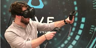 htc vive fully immersive virtual reality