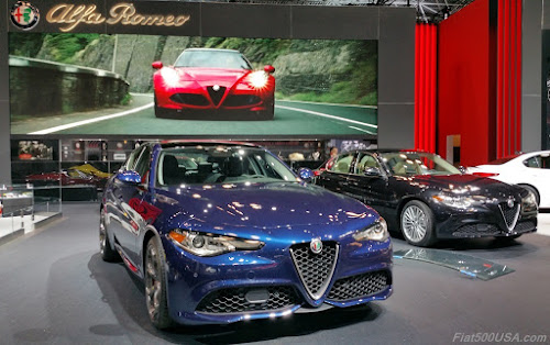 Alfa Romeo Giulia Display