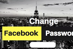 Change the Password Of Facebook