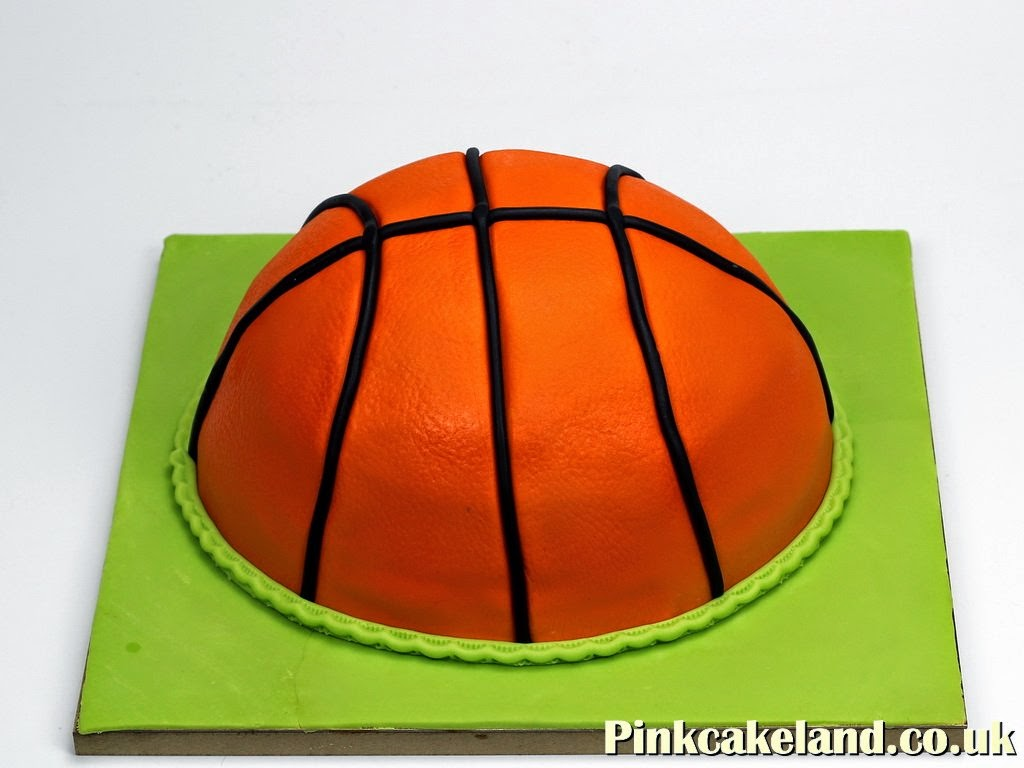 Basketball Birthday Cake, London