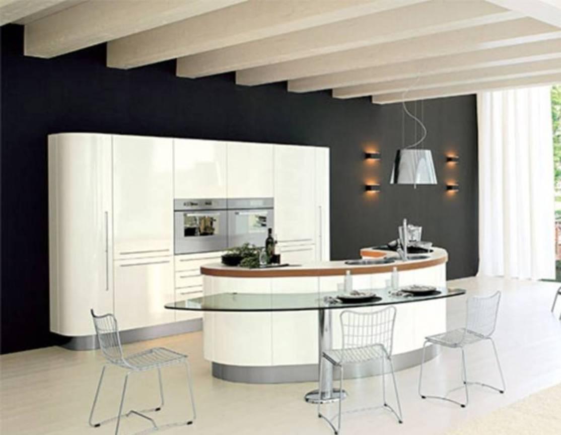 Construindo Minha Casa Clean 45 Cozinhas Americanas Com Ilha Em Curva Ou Circular Maravilhosas