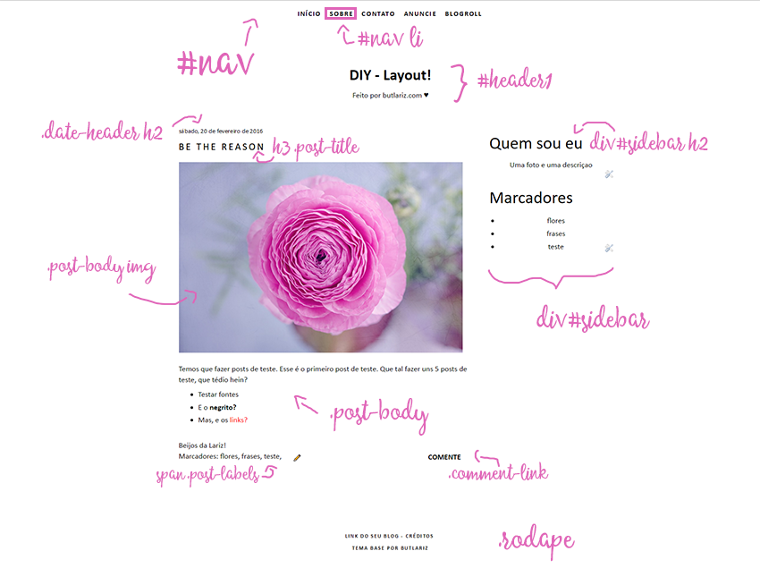 Tema base responsivo blogger free