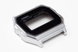 CASIO A158WA-1JF 文字盤再塗装