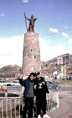 Músicos Colombianos En perú
