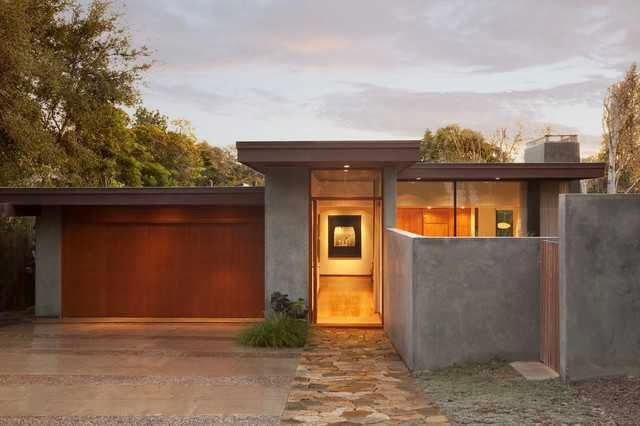 Mid Century Modern Garage Door Photo