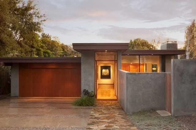 Mid Century Modern Garage Door Ideas