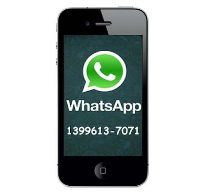 Whatsapp do Santo Festeiro : 13996137071