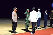 Kunjungan Kerja Presiden Jokowi di Kalteng Berjalan Aman dan Lancar